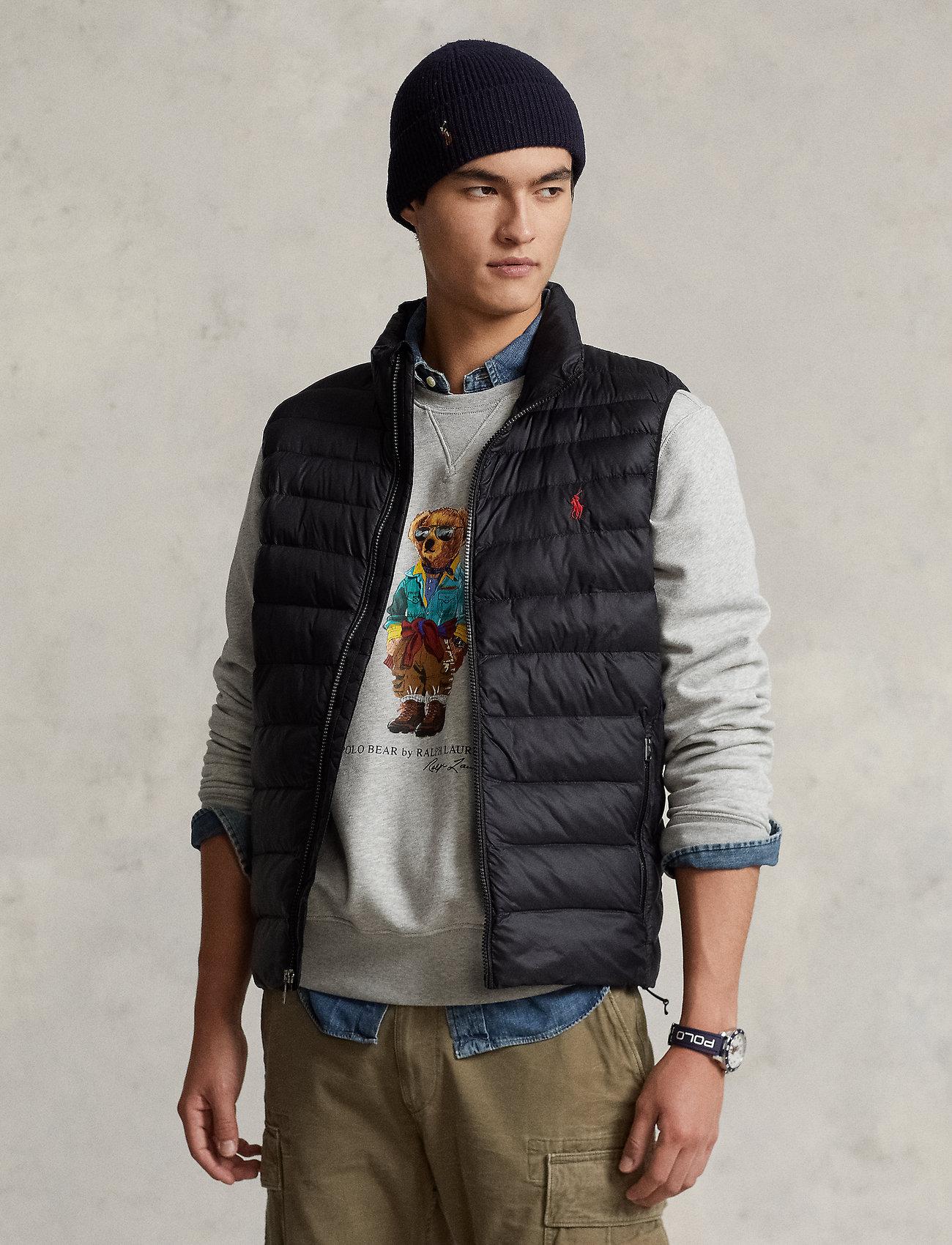 Polo Ralph Lauren - Packable Quilted Vest - vests - polo black - 0
