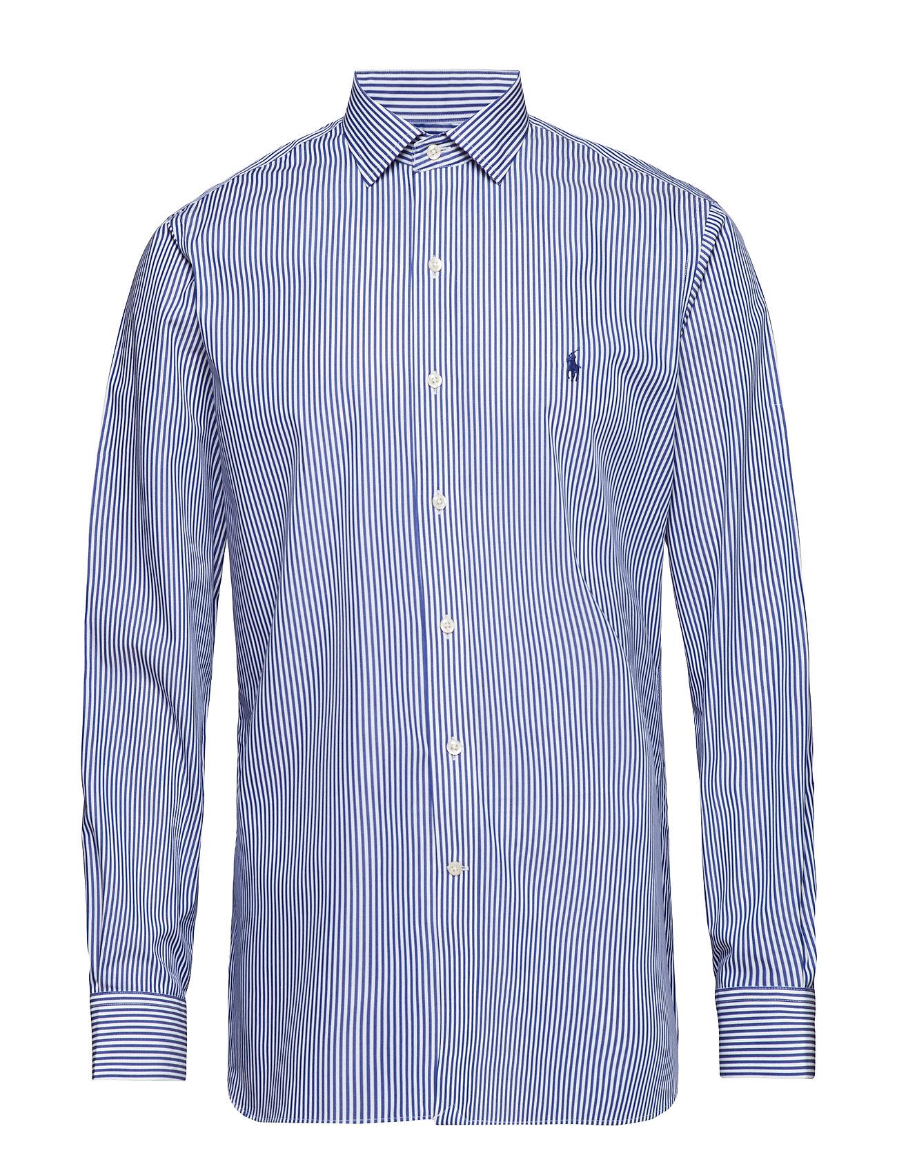 Polo Ralph Lauren Custom Fit Striped Shirt - 3213A ROYAL/WHITE
