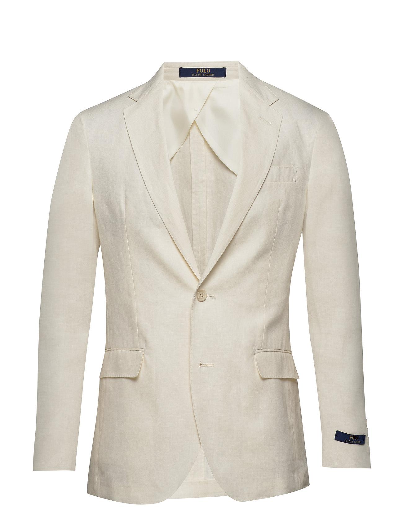 Polo Ralph Lauren Polo Soft Linen Sport Coat - LIGHT CREAM