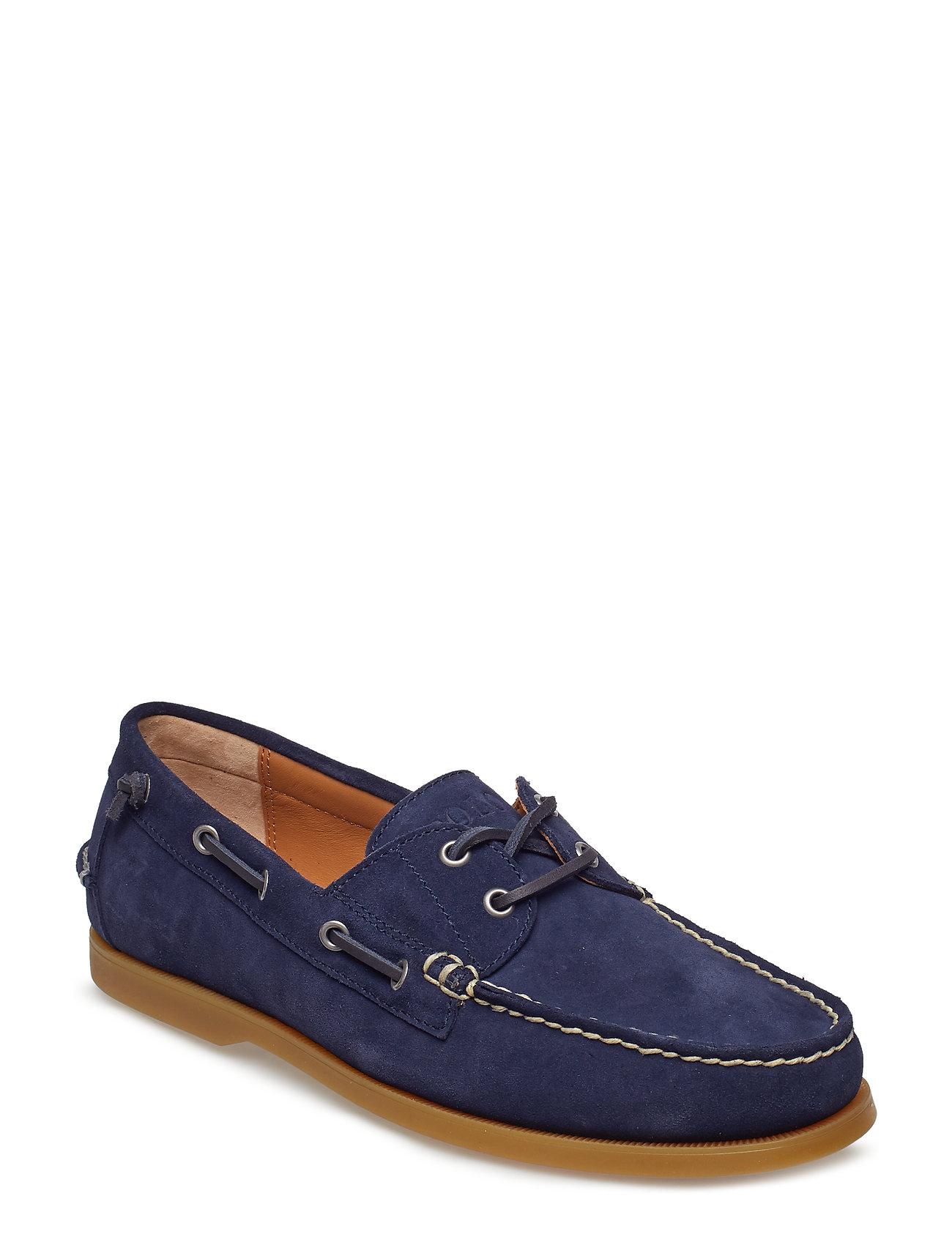 Polo Ralph Lauren Merton Suede Boat Shoe - NEWPORT NAVY