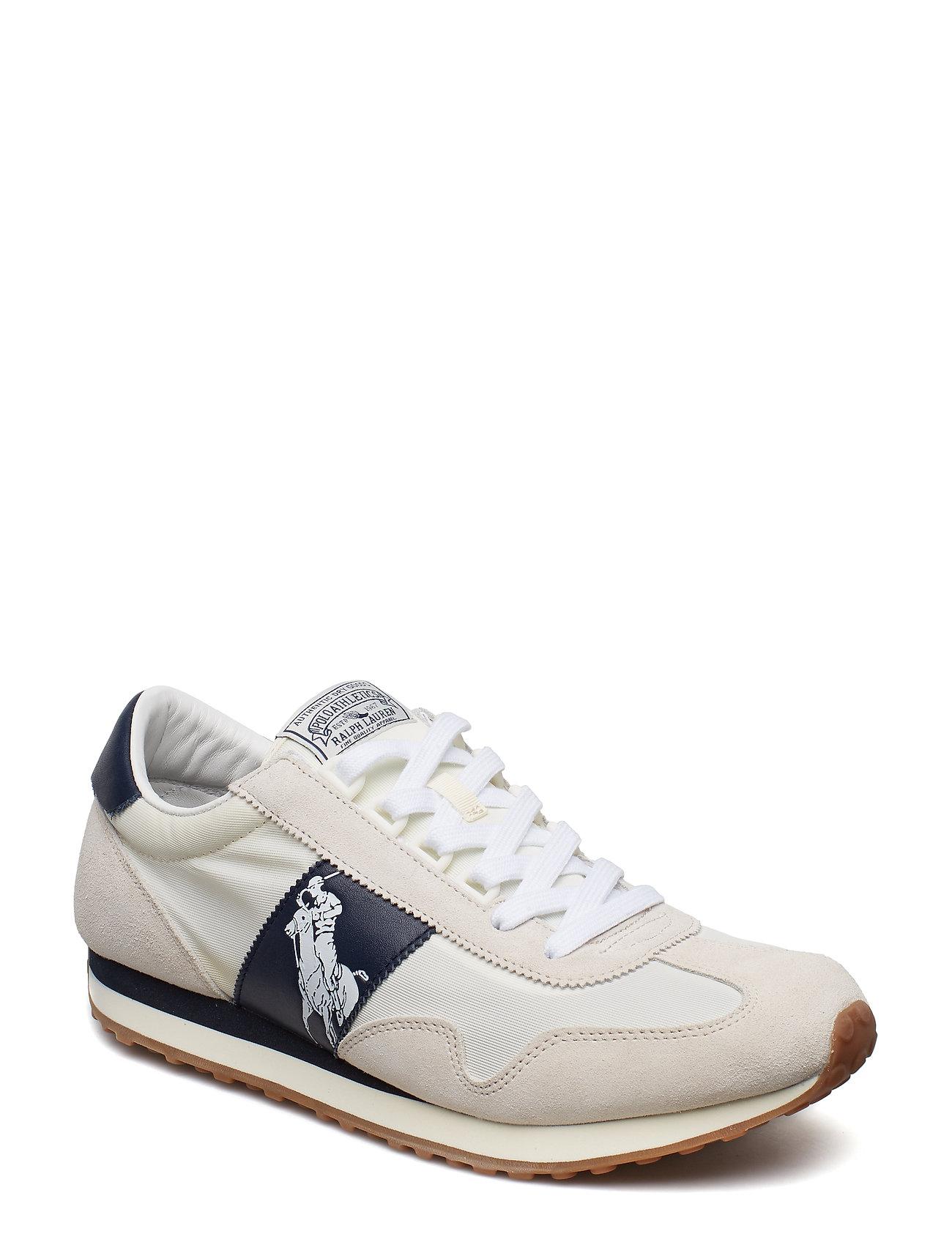 Polo Ralph Lauren Train 90 Sneaker - EGRET/WHITE