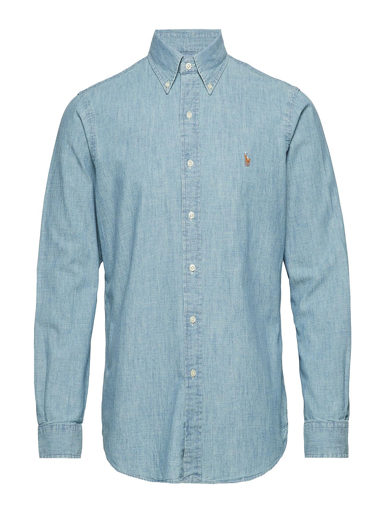 Polo Ralph Lauren Classic Fit Denim Sport Shirt - MEDIUM WASH