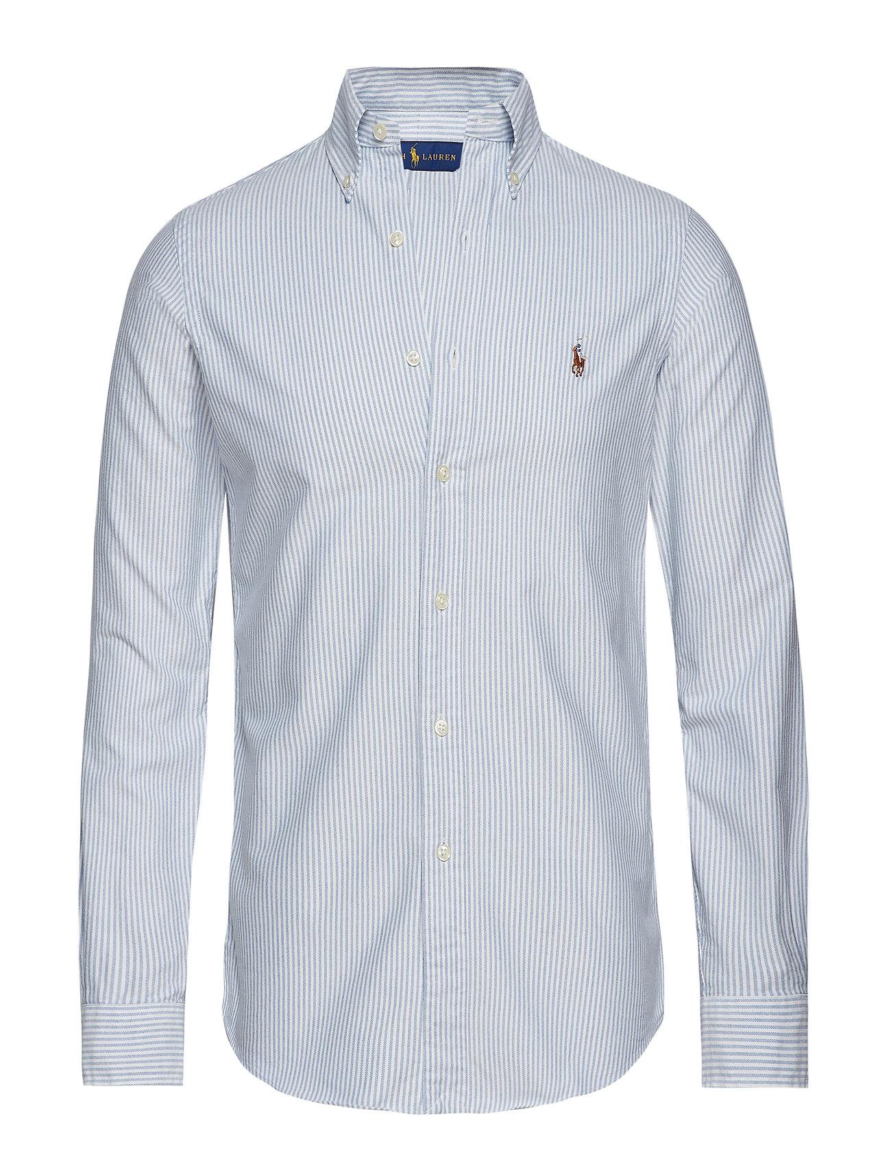 Ralph Lauren Ladies Custom Fit Blue Oxford Shirt