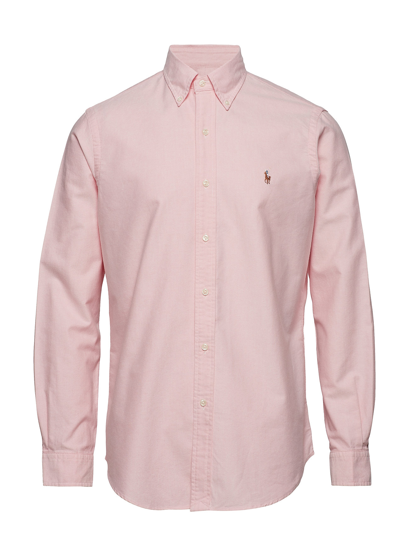 Polo Ralph Lauren Custom Fit Cotton Oxford Shirt - BSR PINK
