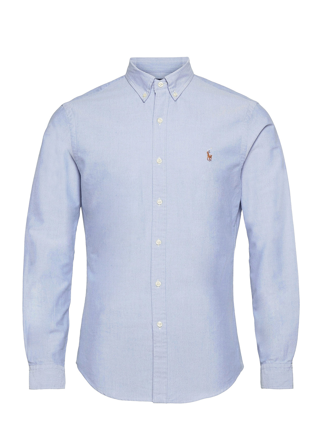 Polo Ralph Lauren Slim Fit Cotton Oxford Shirt - BSR BLUE