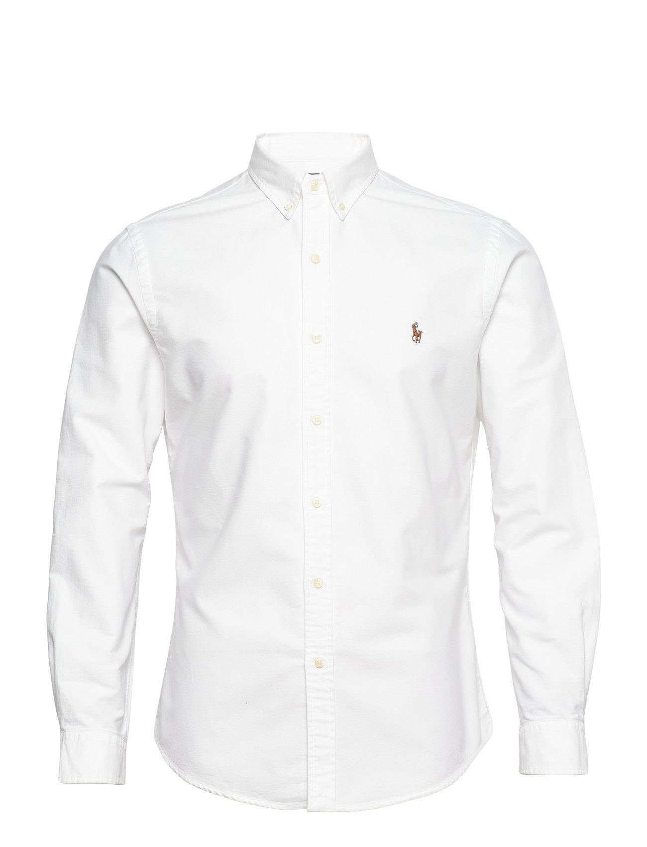 Polo Ralph Lauren - Slim Fit Oxford Shirt - basic krekli - white - 1