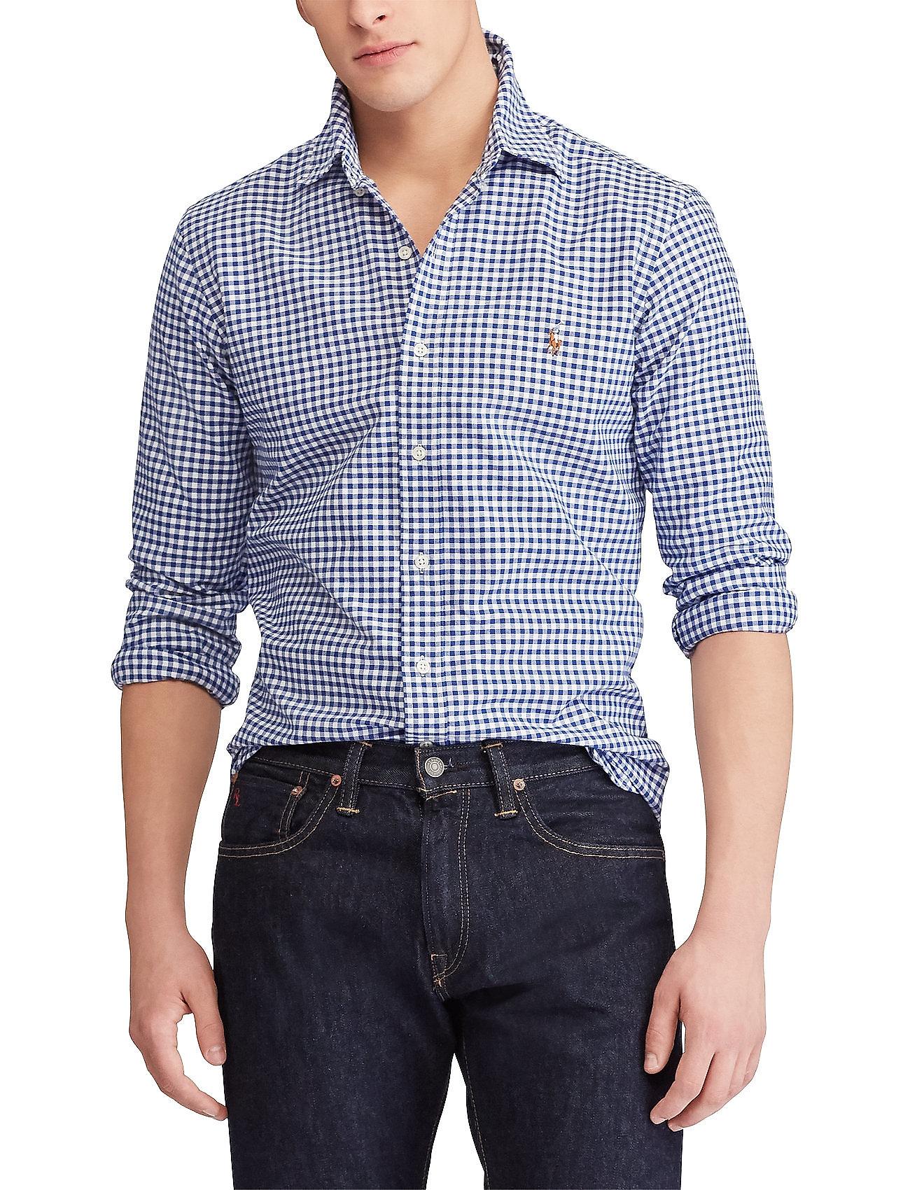 Polo Ralph Lauren - Slim Fit Oxford Sport Shirt - rūtaini krekli - blue/white ging - 0