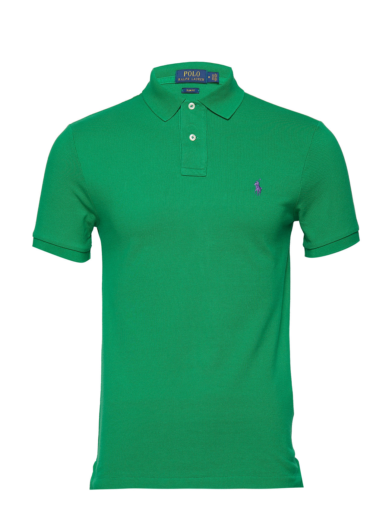 Polo Ralph Lauren Slim Fit Mesh Polo Shirt - BILLIARD