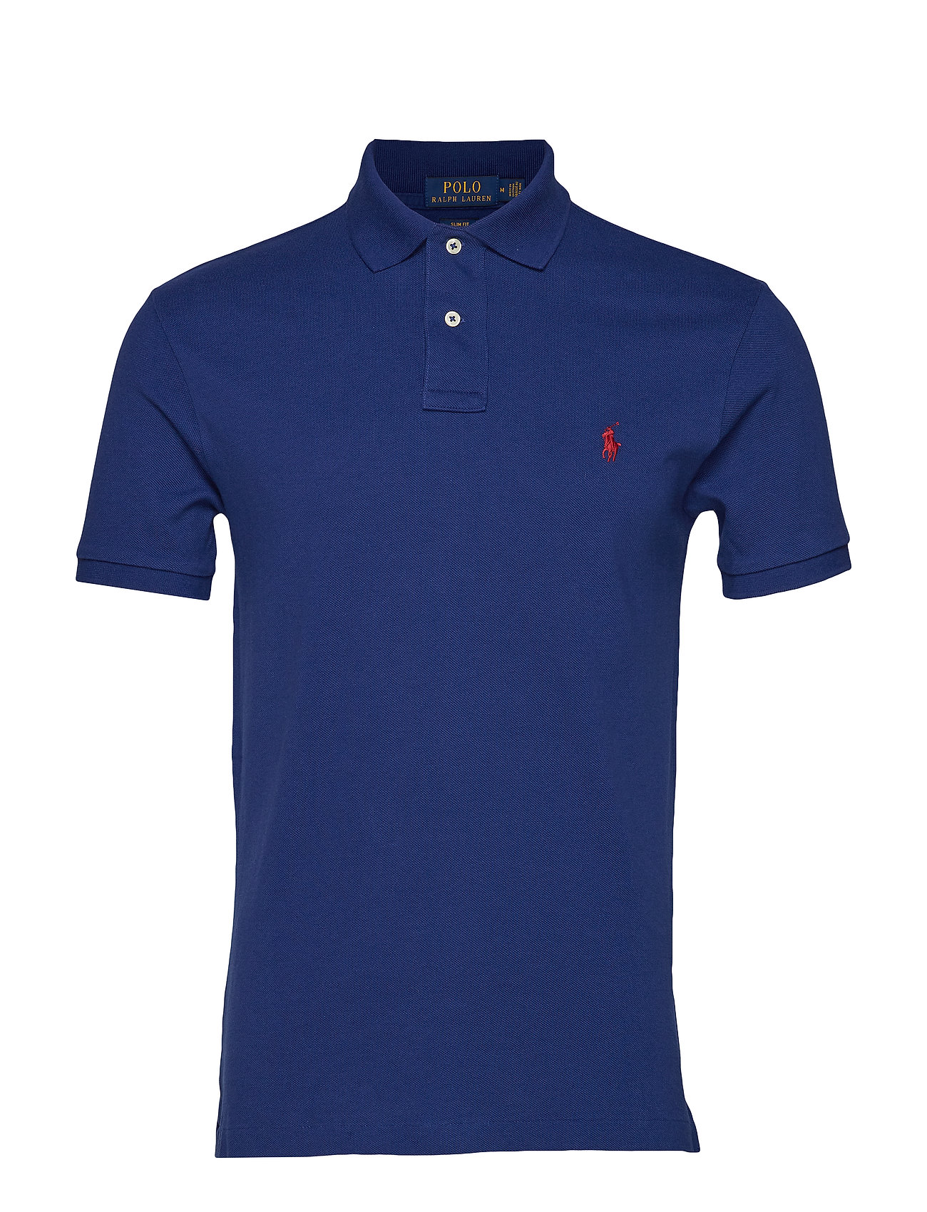 Polo Ralph Lauren Slim Fit Mesh Polo Shirt - HOLIDAY SAPPHIRE