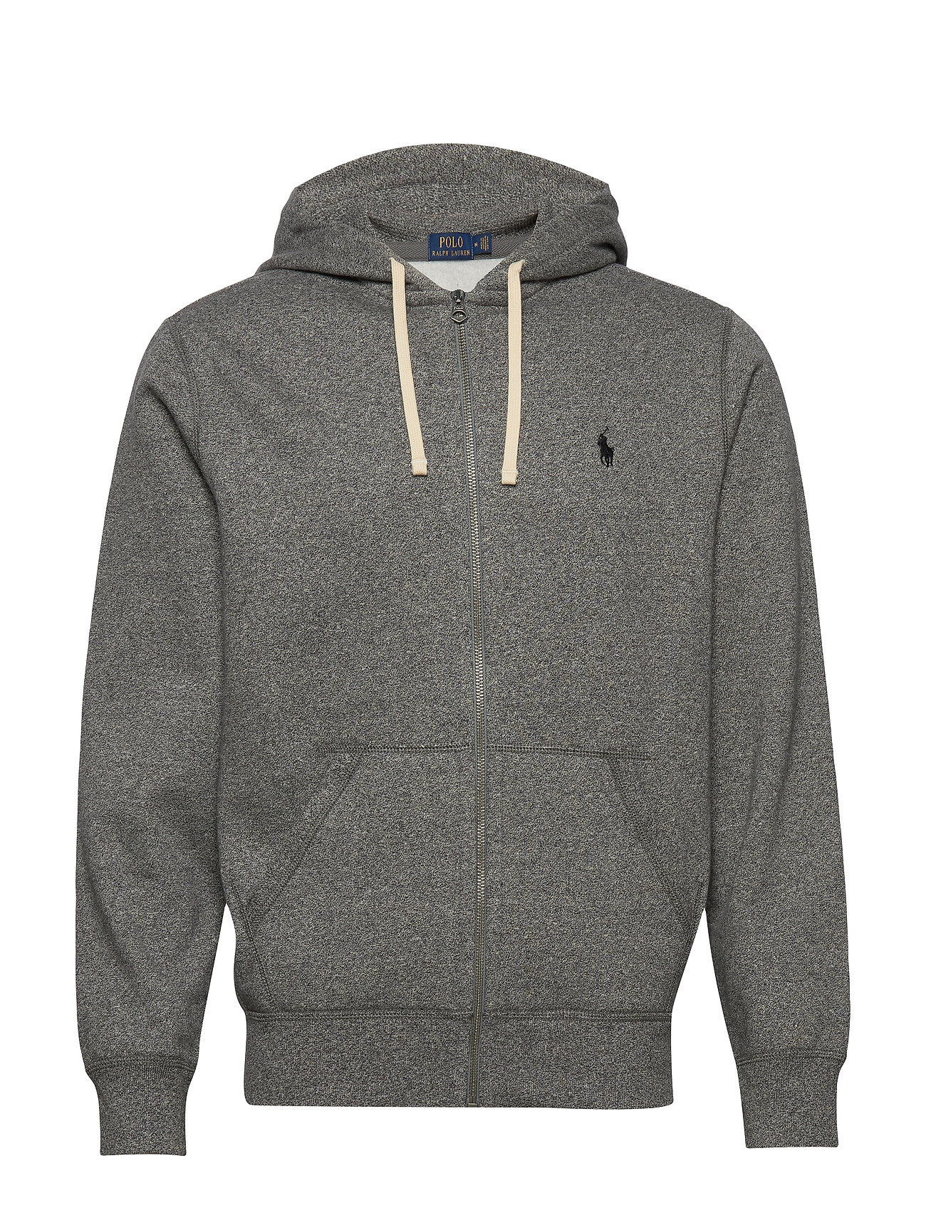 Polo Ralph Lauren Cotton-Blend-Fleece Hoodie - ALASKAN HEATHER