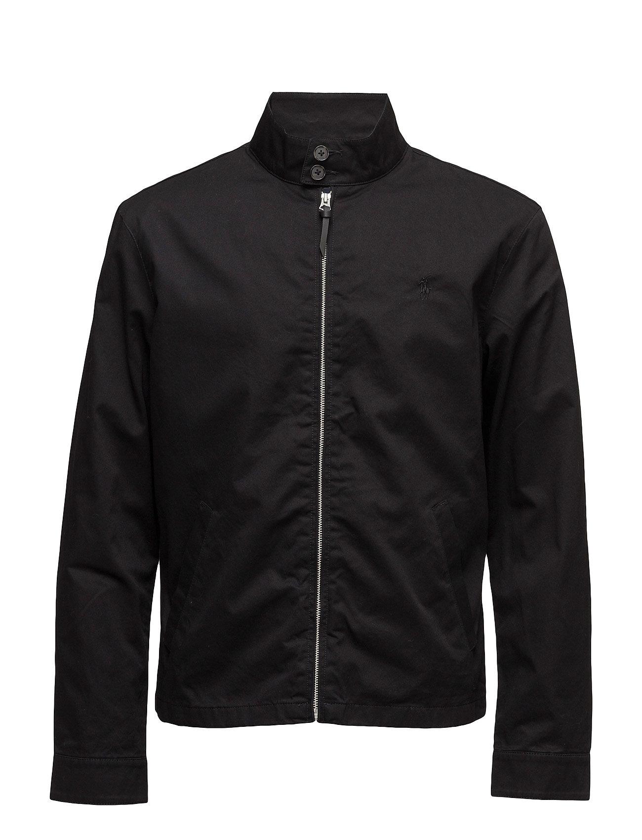 dc16cd47da3f Cotton Twill Jacket (Polo Black) (£78.75) - Polo Ralph Lauren ...