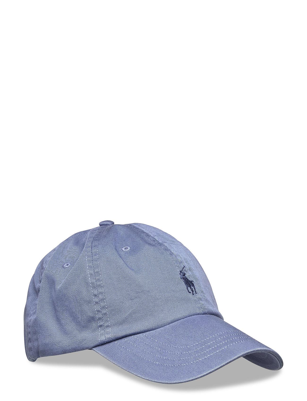 Cotton Chino Baseball Cap (Carson Blue adiro) (£35) - Polo Ralph ... 7686d993fc0