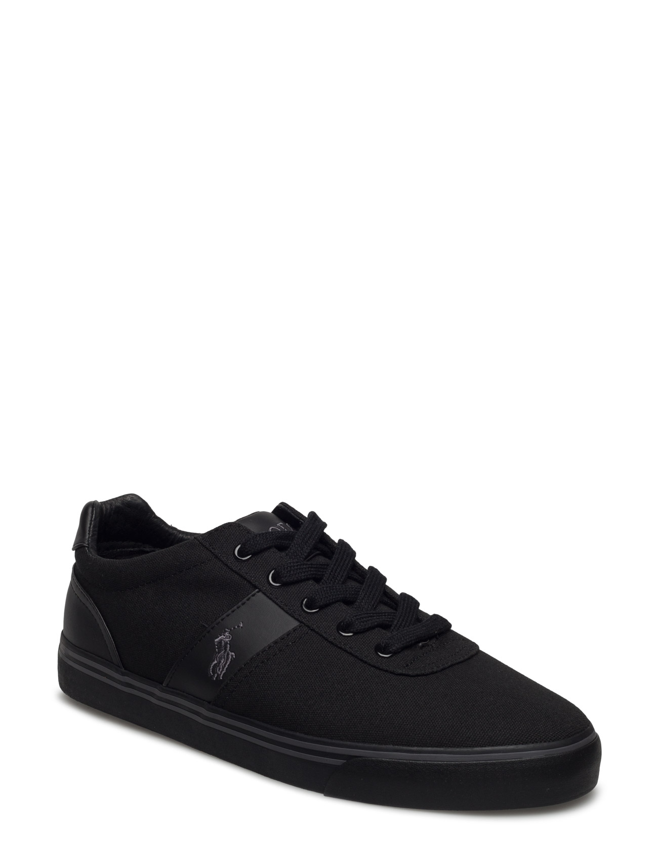 02611d18efb Hanford Canvas Sneaker (Black char bck) (£69) - Polo Ralph Lauren ...