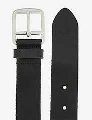 Polo Ralph Lauren - Saddle Leather Dress Belt - belts - black - 1
