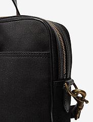 Polo Ralph Lauren - Leather-Trim Canvas Briefcase - briefcases - black/black - 3