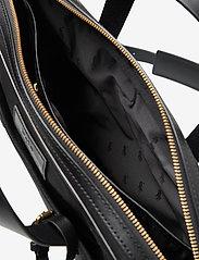 Polo Ralph Lauren - Leather-Trim Canvas Briefcase - briefcases - black/black - 5