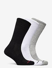 Polo Ralph Lauren - Athletic Crew Sock 3-Pack - regular socks - black / white / g - 1