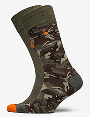 Polo Ralph Lauren - COMBED COTTON-BIG BEARS-CRW-2PK - regular socks - charcoal/nvy/surp - 0