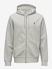 Polo Ralph Lauren - Double-Knit Full-Zip Hoodie - hoodies - lt sport heather - 1