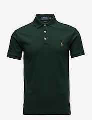 Polo Ralph Lauren - Slim Fit Interlock Polo Shirt - short-sleeved polos - college green - 0