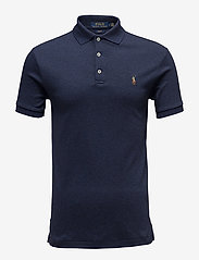 Polo Ralph Lauren - Slim Fit Interlock Polo Shirt - short-sleeved polos - spring navy heath - 0
