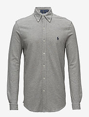 Featherweight Mesh Shirt - ANDOVER HEATHER