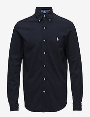 Polo Ralph Lauren - Featherweight Mesh Shirt - oxford shirts - aviator navy - 0