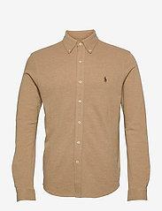 Featherweight Mesh Shirt - LUXURY TAN HEATHE
