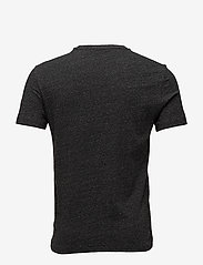 Polo Ralph Lauren - Custom Slim Crewneck T-Shirt - lyhythihaiset - black marl heathe - 1