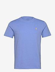 Custom Slim Fit Jersey Crewneck T-Shirt - CABANA BLUE/C1229