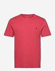 Custom Slim Fit Jersey Crewneck T-Shirt - CHILI PEPPER/C797