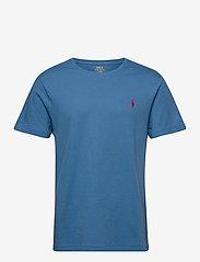 Custom Slim Fit Jersey Crewneck T-Shirt - DELTA BLUE/C4488