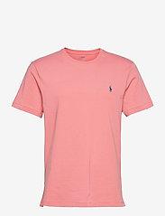 Custom Slim Fit Jersey Crewneck T-Shirt - DESERT ROSE/C7512
