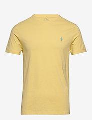 Custom Slim Fit Jersey Crewneck T-Shirt - EMPIRE YELLOW/C61