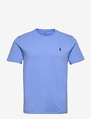 Custom Slim Fit Jersey Crewneck T-Shirt - HARBOR ISLAND BLU