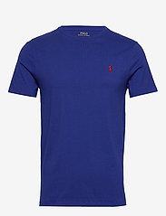Custom Slim Fit Jersey Crewneck T-Shirt - HERITAGE ROYAL/C3
