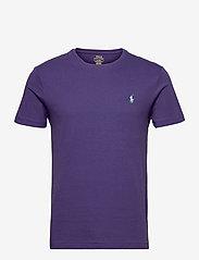 Custom Slim Fit Jersey Crewneck T-Shirt - JUNEBERRY/C5171