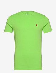 Custom Slim Fit Jersey Crewneck T-Shirt - KIWI LIME/C3867