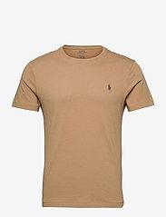 Custom Slim Fit Jersey Crewneck T-Shirt - LUXURY TAN/C8888