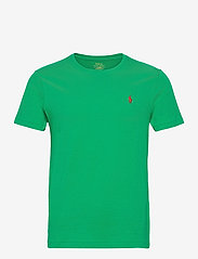 Custom Slim Fit Jersey Crewneck T-Shirt - SCARAB GREEN/C389