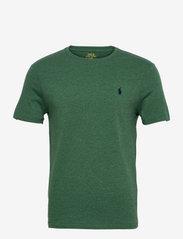 Custom Slim Fit Jersey Crewneck T-Shirt - VERANO GREEN HEAT