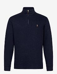 Polo Ralph Lauren - Estate-Rib Cotton Pullover - half zip - cruise navy - 0