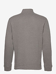 Polo Ralph Lauren - Estate-Rib Cotton Pullover - half zip jumpers - metallic grey hea - 2