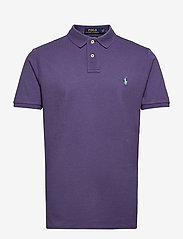 Custom Slim Fit Mesh Polo Shirt - JUNEBERRY/C5171