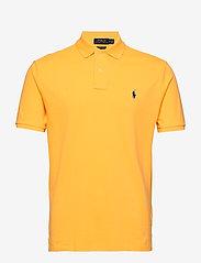 Polo Ralph Lauren - Custom Slim Fit Mesh Polo - polos à manches courtes - yellowfin/c7315 - 0
