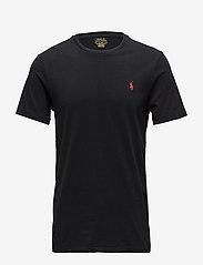 Polo Ralph Lauren - Custom Slim Fit Cotton T-Shirt - basic t-shirts - rl black - 1