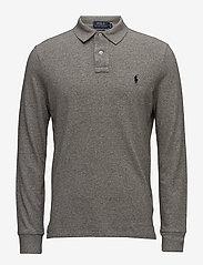 Polo Ralph Lauren - Custom Slim Long-Sleeve Polo - long-sleeved polos - canterbury heathe - 0