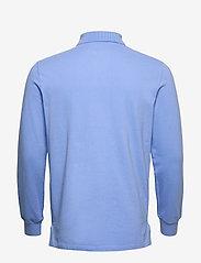Polo Ralph Lauren - Custom Slim Fit Mesh Polo - pitkähihaiset - cabana blue - 1
