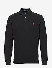 Polo Ralph Lauren - Custom Slim Fit Mesh Polo - lange mouwen - polo black/c3870 - 0
