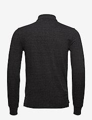 Polo Ralph Lauren - Slim Fit Mesh Long-Sleeve Polo - lange mouwen - black marl heathe - 1